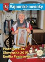 Vajnorské novinky č. 1-2/2011