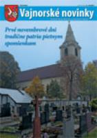 Vajnorské novinky č. 9-10/2011