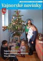 Vajnorské novinky č. 11 - 12/2017