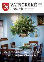 Vajnorské novinky č. 11 - 12/2020