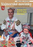 Vajnorské novinky č. 7 - 8/2017