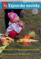 Vajnorské novinky č. 9 - 10/2016