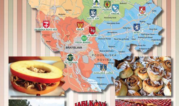 Jablkové hodovanie mapa 1.časť