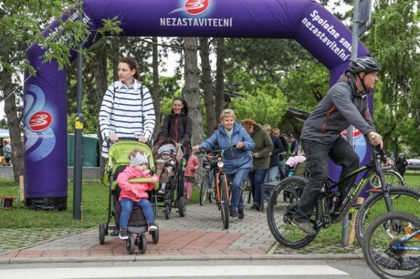 Na kolesách proti rakovine