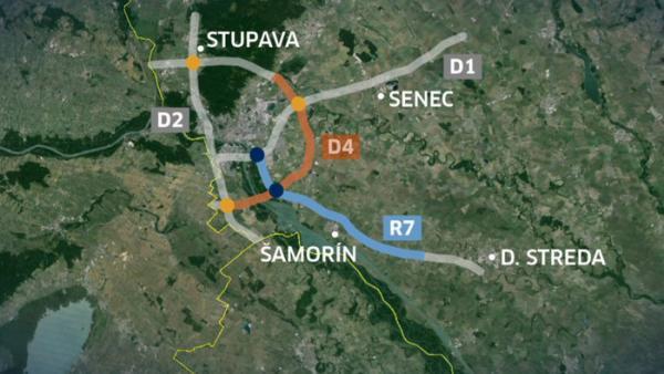 Výstavba diaľnice čiastočne obmedzí aj premávku vlakov