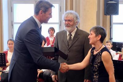 Oceneným seniorom roka 2017 bol aj obyvateľ Vajnor