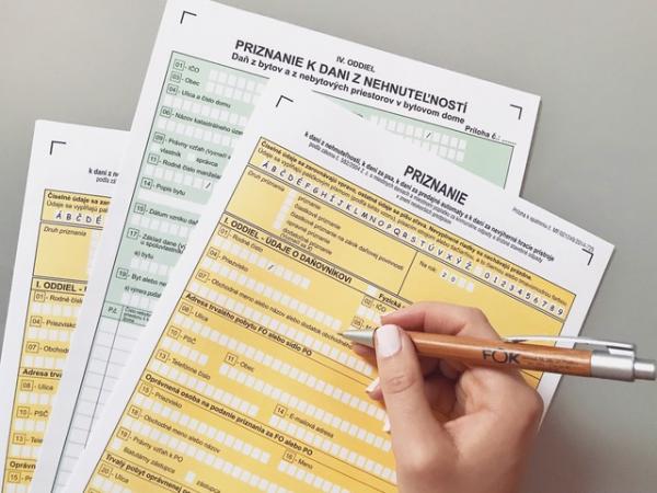 Daňové priznanie k dani z nehnuteľností je potrebné podať na magistráte hl. m. SR Bratislavy do 31. januára 2020