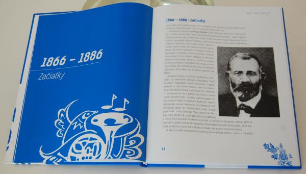 História vajnorskej dychovej hudby v texte a obraze