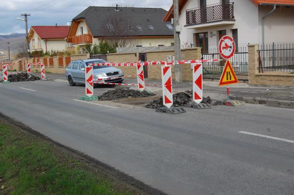 Pozor na opravy ciest