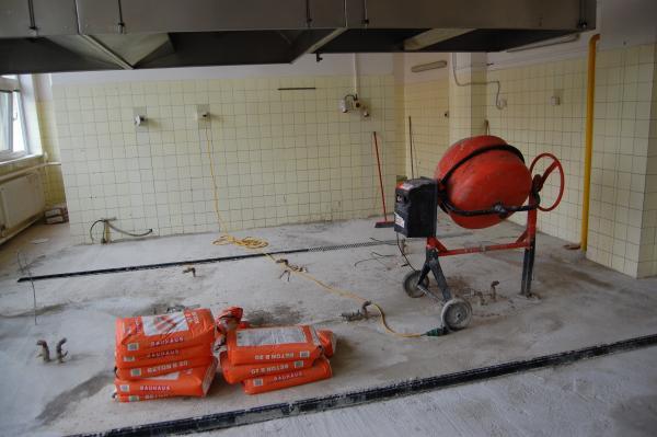 Počas leta sa renovuje kuchyňa v ZŠ K. Brúderovej