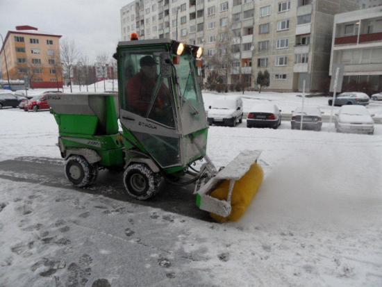 Na zimnú údržbu sa pripravujeme po novom ako nám dovolia súčasné finančne možnosti a technické vybavenie