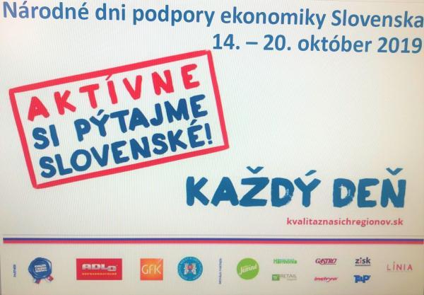 Podporme tento týždeň slovenskú ekonomiku.