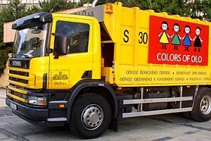 Spoločnosť OLO, a.s. ukončí zber biologického odpadu zhnedých zberných nádob
