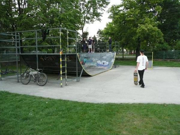 Renovácia U-rampy na detskom ihrisku