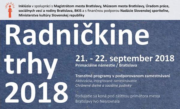 Radničkine trhy 2018
