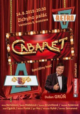 RetroCABARET v podaní Vajnorského ochotníckeho divadla, už 14. augusta 2019 v Zichyho paláci.