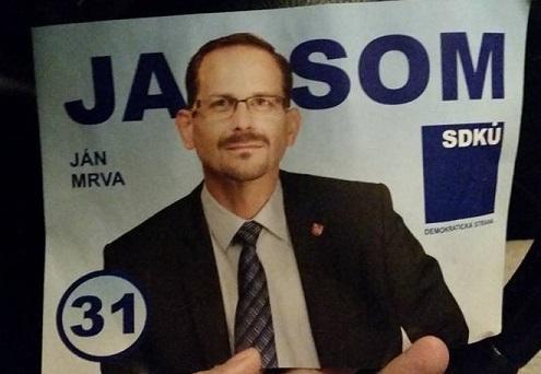Starosta Mrva podal na štátnu volebnú komisiu podnet na prešetrenie klamlivých plagátov šírených vo Vajnoroch a Ružinove