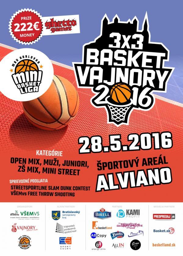 3x3 Basket Vajnory 28.5.2016