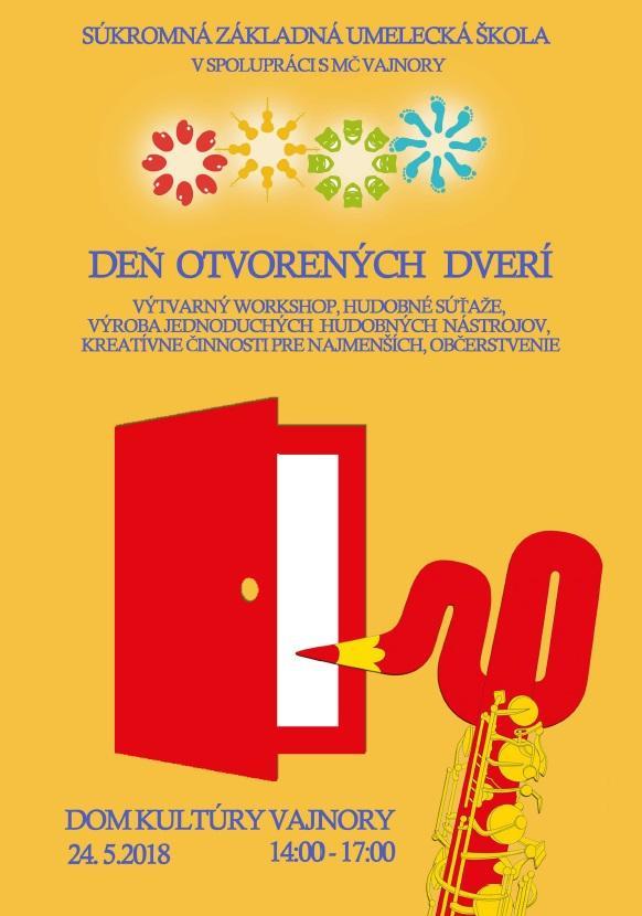 Deň otvorených dverí SUZŠ 24. mája 2018