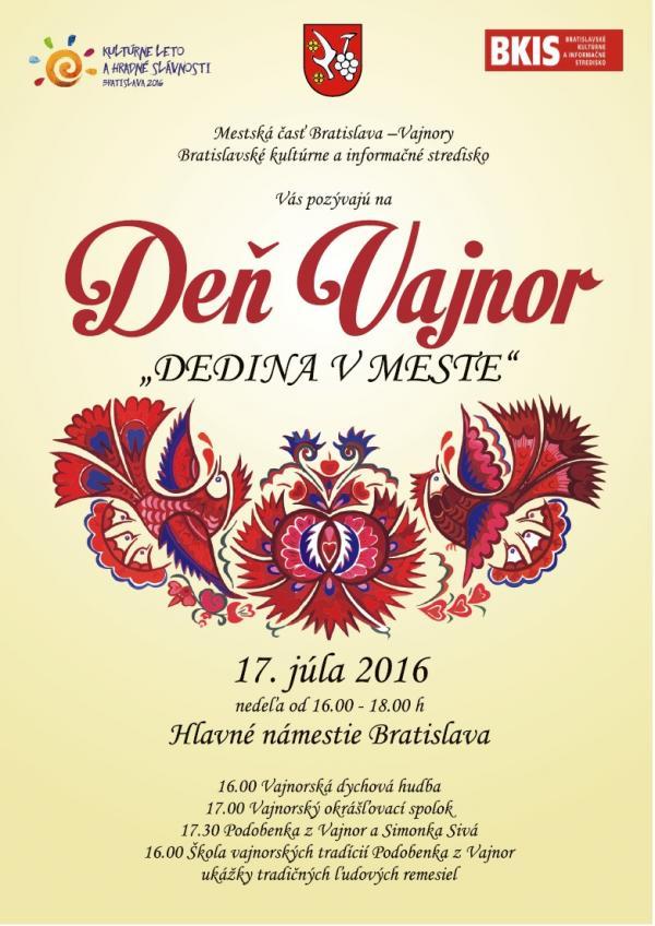 Deň Vajnor 17.júla 2016