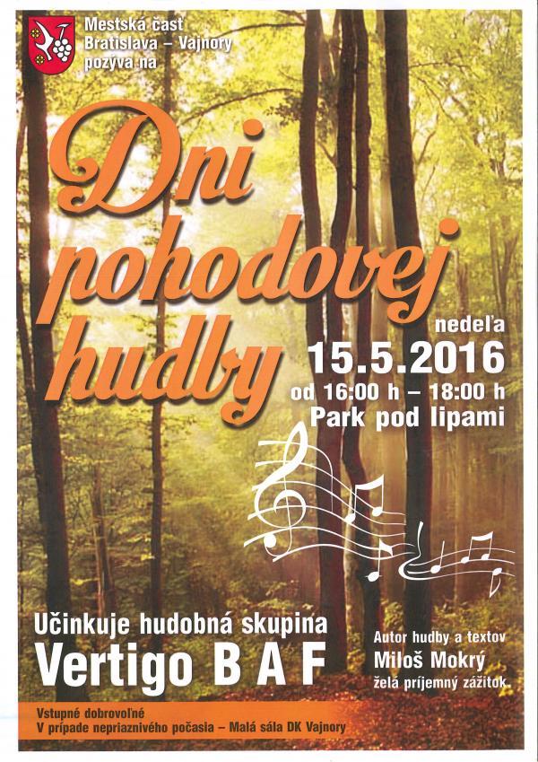 Dni pohodovej hudby 15.5.2016