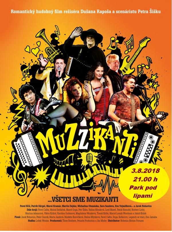 OPEN AIR KINO 2018: Muzzikanti