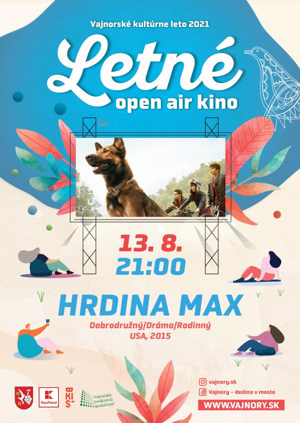 OPEN AIR Letné kino 2021: Hrdina Max