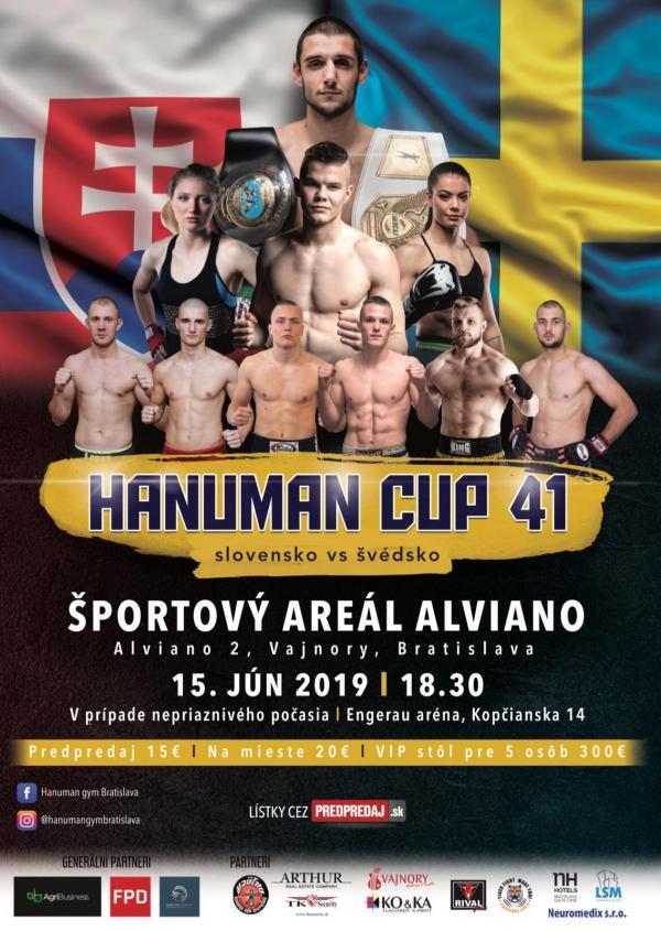 Hanuman cup 41 - bojové športy vo Vajnoroch