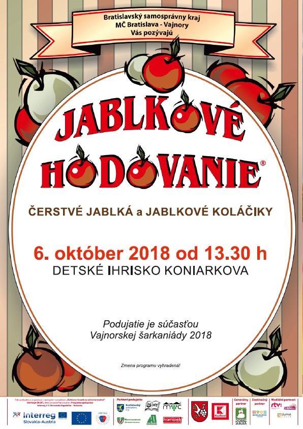 Jablkové hodovanie 6. október 2018
