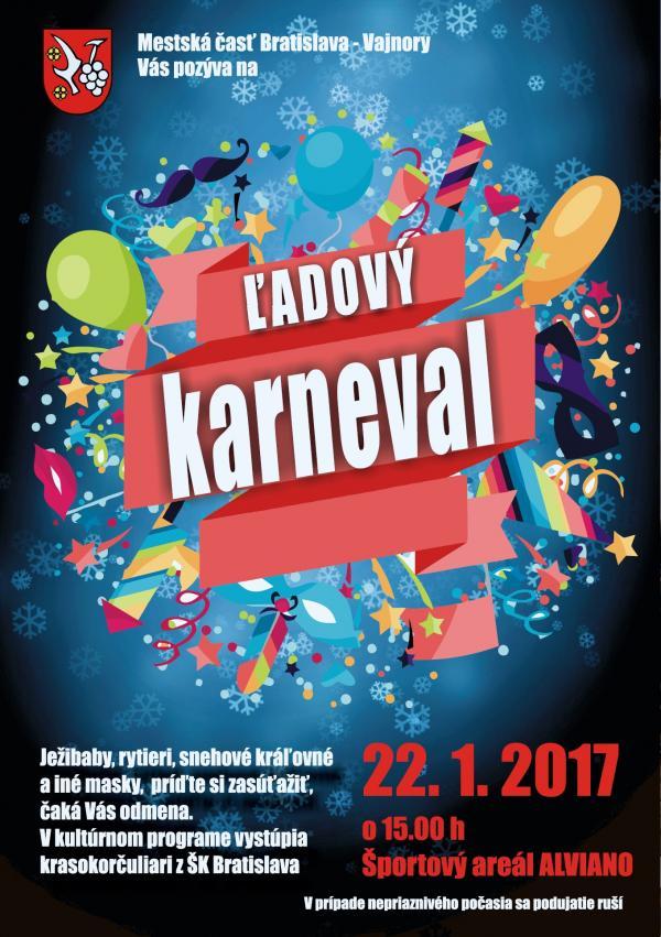 Ľadový karneval 22.1.2017
