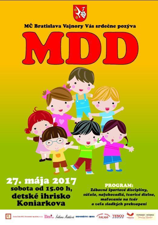 Medzinárodný deň detí 27. mája 2017