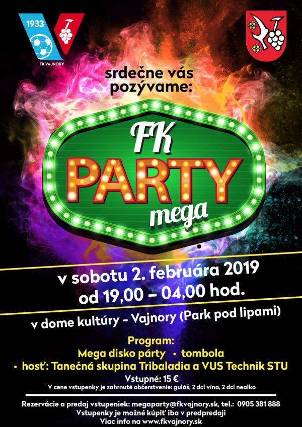Mega party 2. február 2019