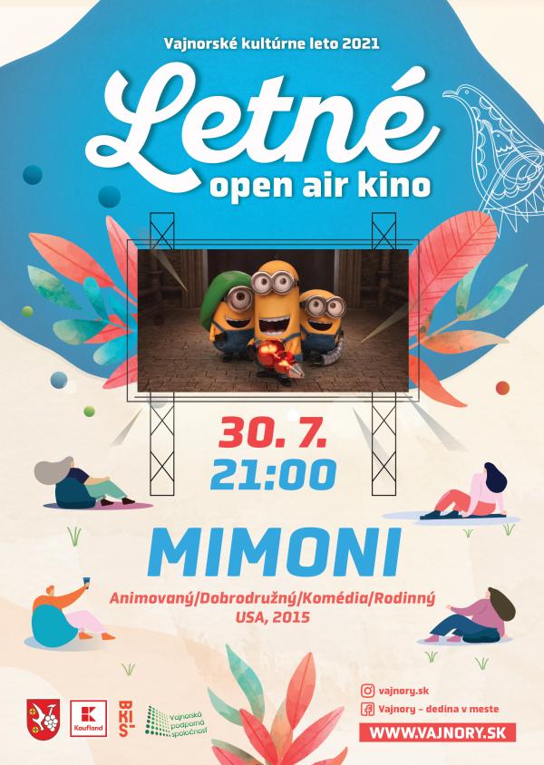 OPEN AIR Letné kino 2021: Mimoni