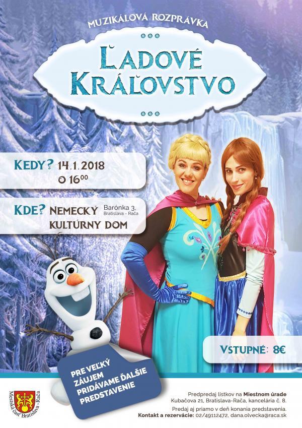 Ľadové kráľovstvo 14.január 2018