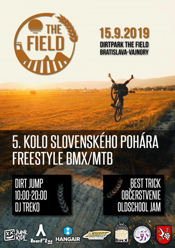 5. kolo slovenského pohára freestyle MTB/BMX