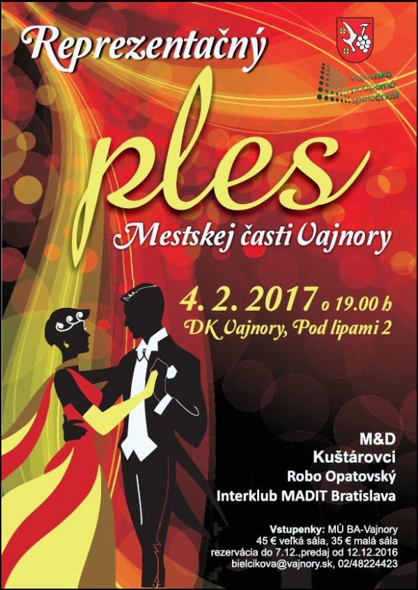 Reprezentačný ples 4.2.2017