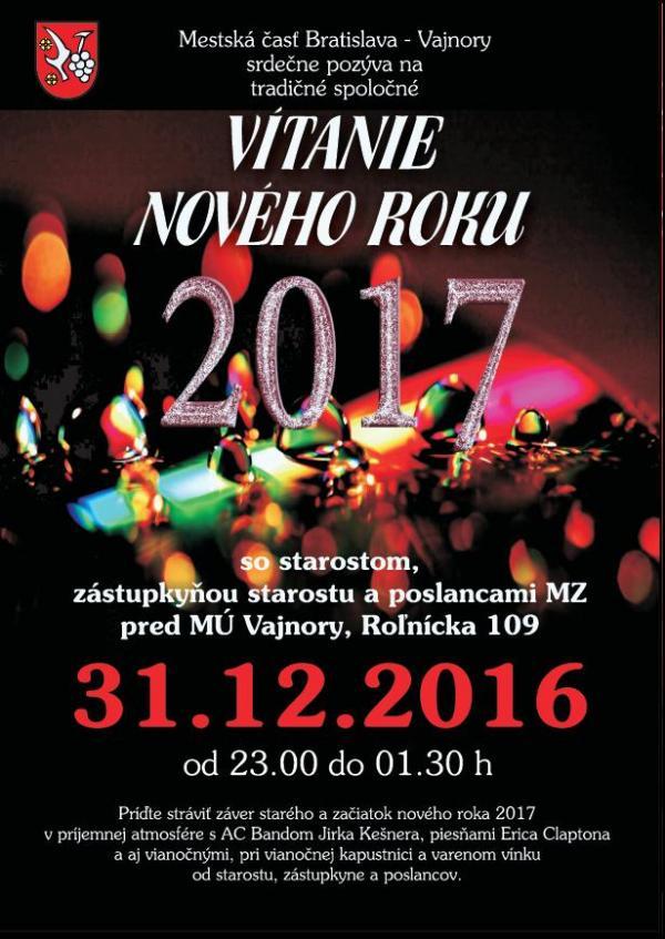 Silvester - Vítanie roka 2017