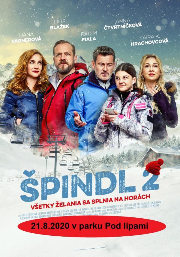 OPEN AIR Letné kino 2020: Špindl 2
