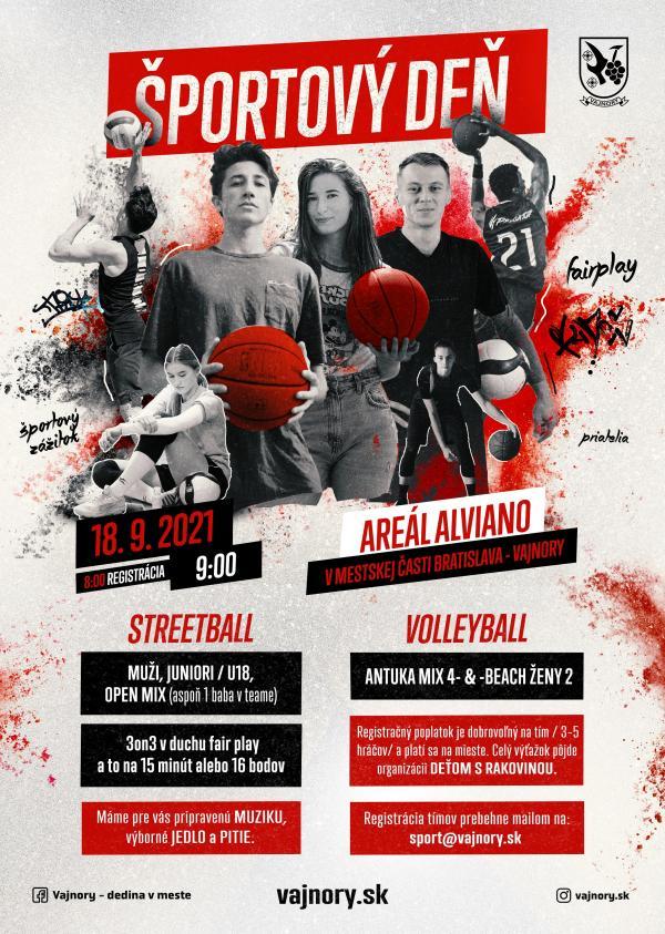Športový deň vo Vajnoroch