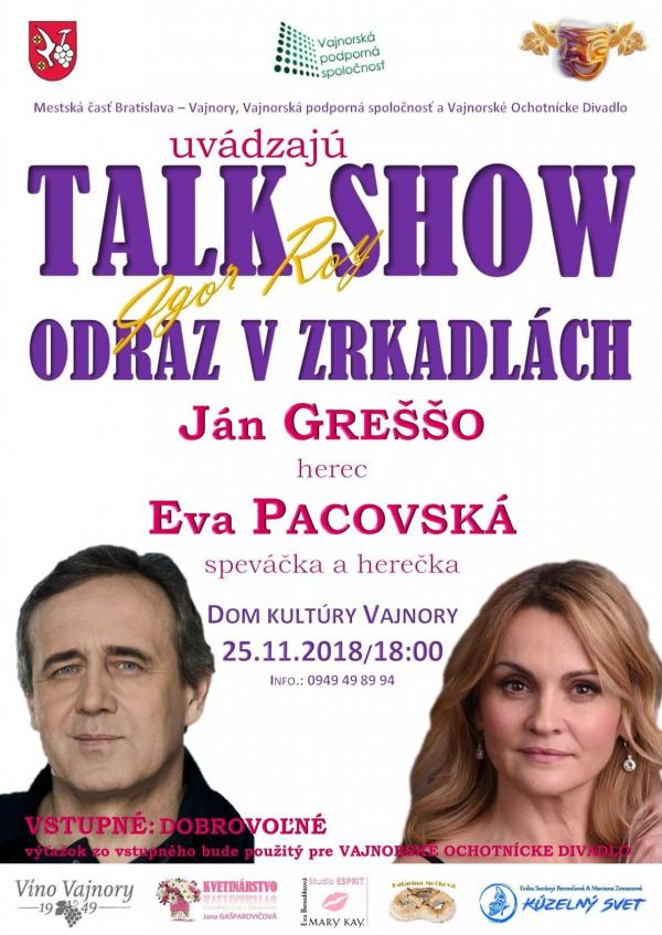 Talkshow 25. novembra 2018