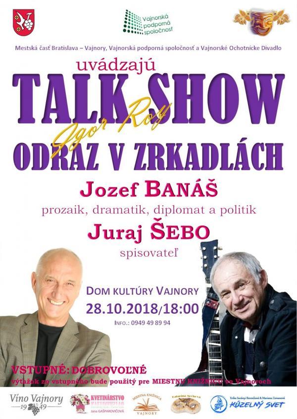 Talkshow Odraz v zrkadlách 28. októbra 2018