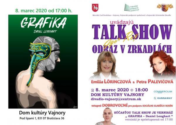 "Talk show Igora Roya ""Odraz vzrkadlách"" 8. marca 2020"