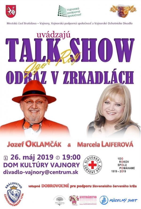 "Talkshow ""Odraz v zrkadlách"" 26. mája 2019"