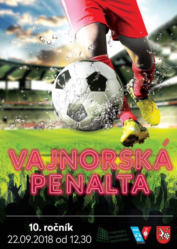 Vajnorká penalta 10. ročník 22. september 2018