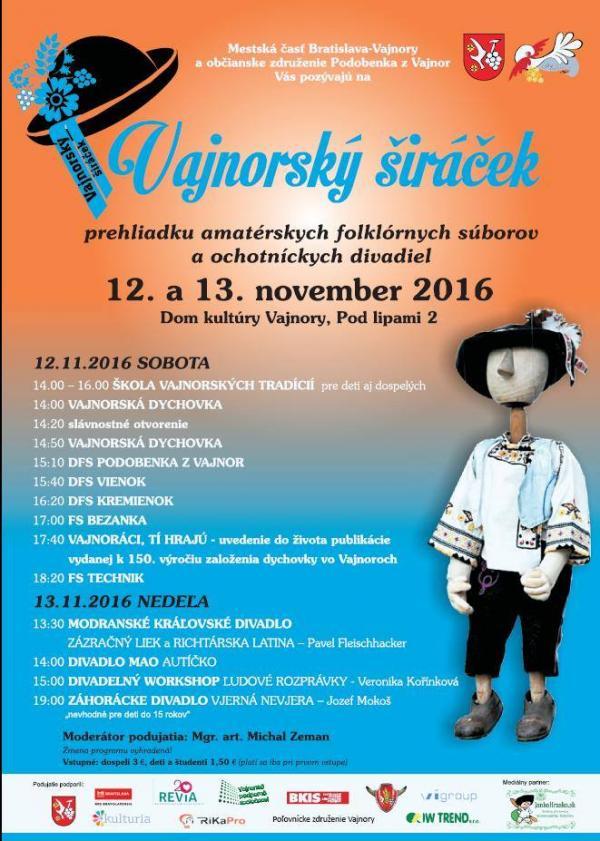 Vajnorský širáček 12.-13.11.2016