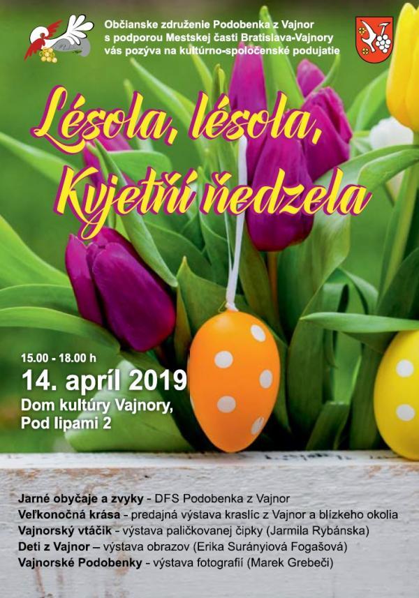 Kvetná nedeľa 14. apríla 2019