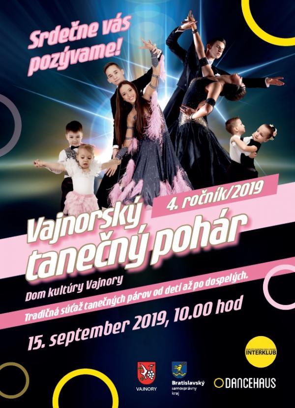 Vajnorský tanečný pohár 15. septembra 2019