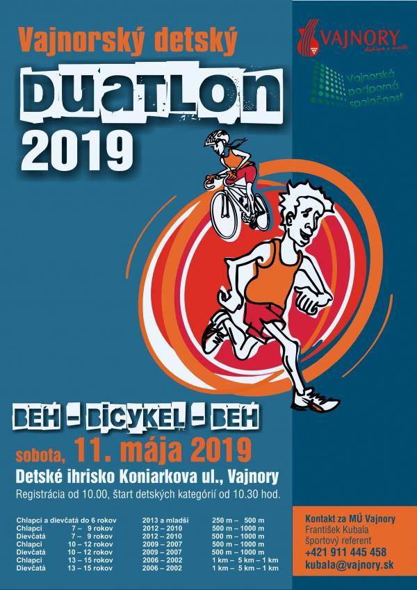 Vajnorský detský Duatlon 2019