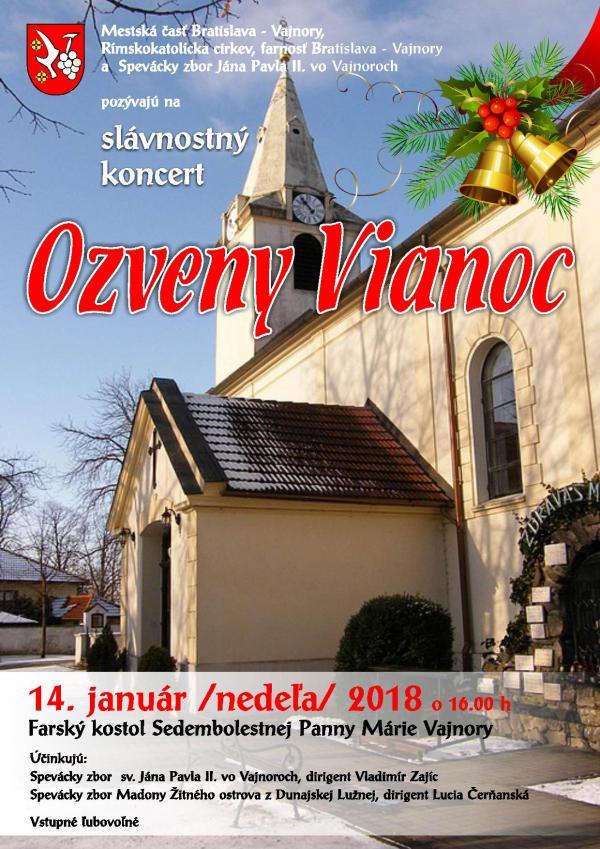 Ozveny Vianoc 2018