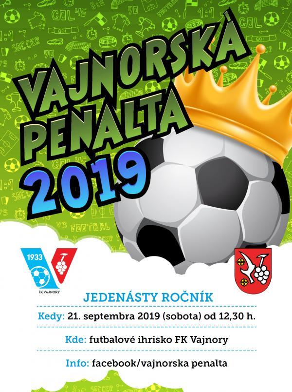 Vajnorská penalta 21. septembra 2019
